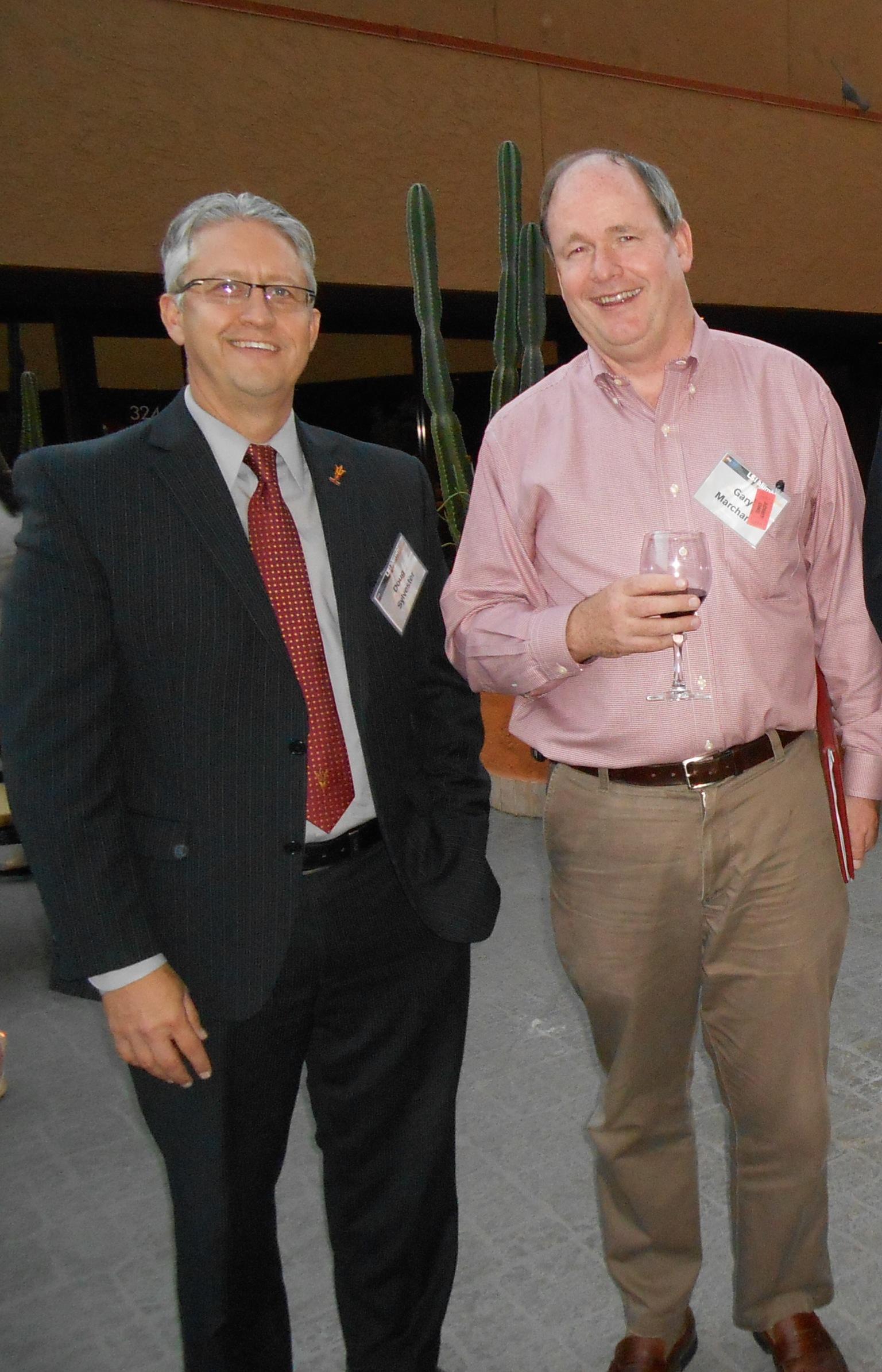 Dean Doug Sylvester & Prof. Gary Marchant